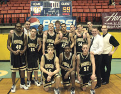 Peninsula College Basketball Team
